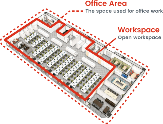 Itoki Solutions Work Space Composition Elements